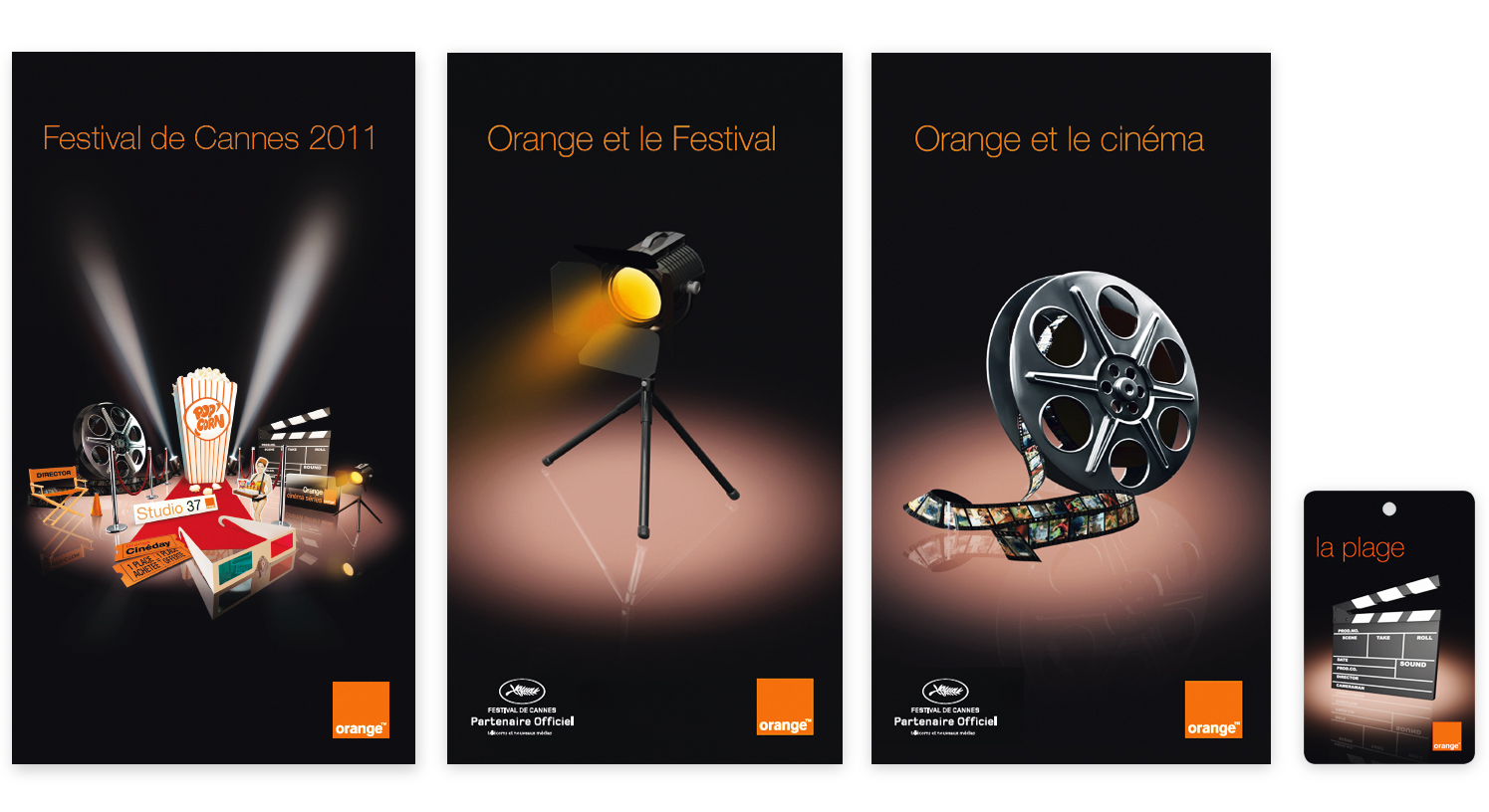 orange festival de cannes agence punk. Black Bedroom Furniture Sets. Home Design Ideas